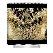 Leopard Eyes Shower Curtain by Sumit Mehndiratta