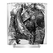 Leopoldo Odonnell Shower Curtain