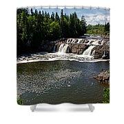 Lepreau Falls Shower Curtain