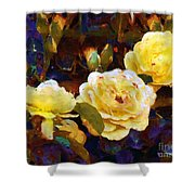 Les Roses Sauvages Shower Curtain