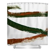 Less Traveled Shower Curtain