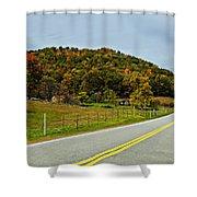 Let It Roll Paint  Shower Curtain by Steve Harrington