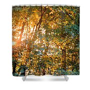 Let The Earth Arise Shower Curtain