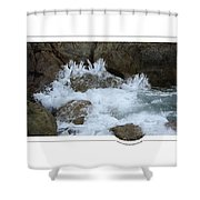 Let The Rivers Clap Their Hands Shower Curtain