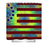 Let Your Freak Flag Fly Shower Curtain