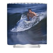 Let's Go Surfing Shower Curtain