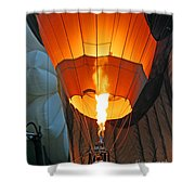 Lets Go Up Shower Curtain