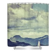 Lets Sail Away Shower Curtain