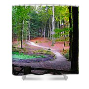 Lets Take A Walk Shower Curtain