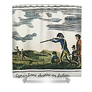 Lewis & Clark: Native American, 1811 Shower Curtain