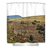 Lewis And Clark Park  Shower Curtain