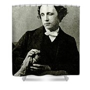 Lewis Carroll, English Author Shower Curtain by Photo Researchers