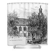 Leyden: University Shower Curtain