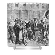 Liberated Slaves, 1861 Shower Curtain