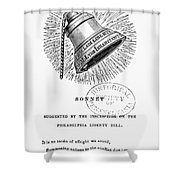 Liberty Bell, 1839 Shower Curtain