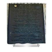 Liberty Engine Company Shower Curtain