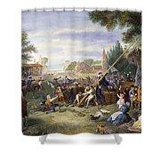 Liberty Pole, 1776 Shower Curtain