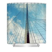 Liberty Pole Shower Curtain