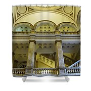 Library 4 Shower Curtain
