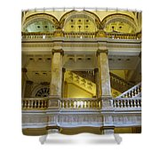 Library 5 Shower Curtain