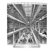 Library Of Congress, 1880 Shower Curtain by Granger