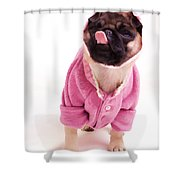 Lick Shower Curtain