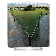 Lido Beach Venice Italy Shower Curtain