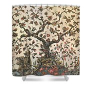 Life As A Tree 18th Century Shower Curtain by Science Source