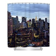 Life In The Big City Shower Curtain