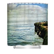 Life Is Bigger Shower Curtain by Laurie Search