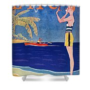 Life: Its A Girl, 1926 Shower Curtain