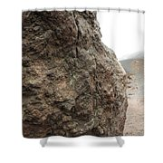 Life On Mars - Etna World. Shower Curtain