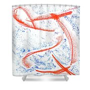 Life Search Shower Curtain
