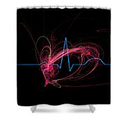 Life Signs Shower Curtain