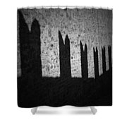Light And Shadow Shower Curtain by Joana Kruse