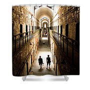 Light At The End Of The Journey Shower Curtain