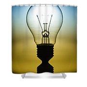 Light Bulb Shower Curtain by Setsiri Silapasuwanchai