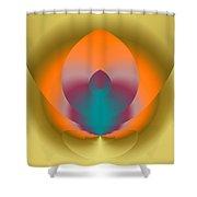 Light Elements Shower Curtain