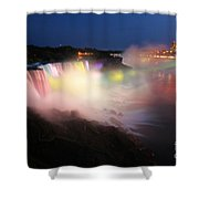 Light From The Canadians Shower Curtain