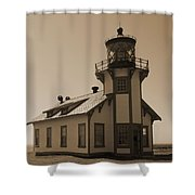 Light House 3 Shower Curtain