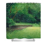 Light In August Shower Curtain