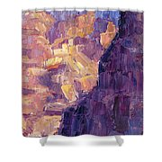 Light In The Canyon Shower Curtain