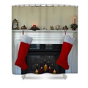 Light Of Christmas Shower Curtain