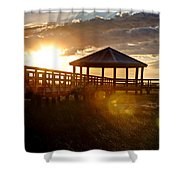 Light Of Life Shower Curtain