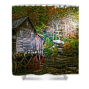 Light On The Mill Shower Curtain