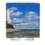 Lighthouse Dream Shower Curtain