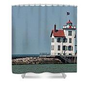 Lighthouse Ohio Shower Curtain