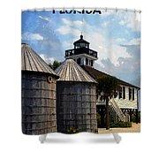 Lighthouse On Gasparilla Shower Curtain