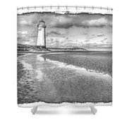 Lighthouse Reflected Shower Curtain