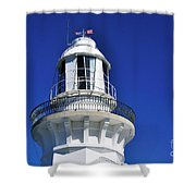 Lighthouse Turret Shower Curtain